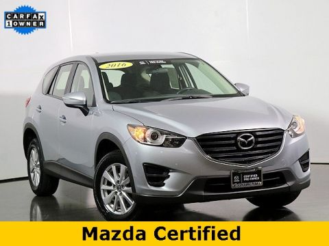 Pre-Owned 2016 Mazda CX-5 Sport W/Back Up Camera