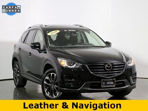 Pre-Owned 2016 Mazda CX-5 Grand Touring W/Tech & I Active