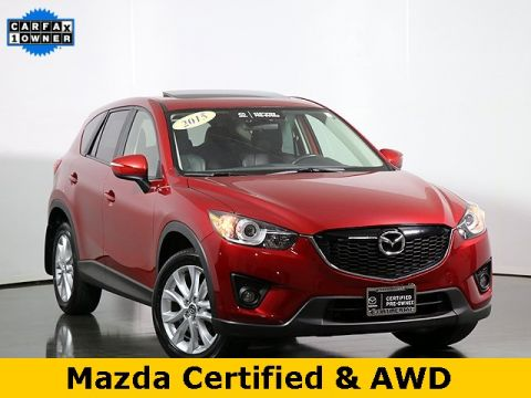 Pre-Owned 2015 Mazda CX-5 Grand Touring SIRIUS SATELLITE RADIO
