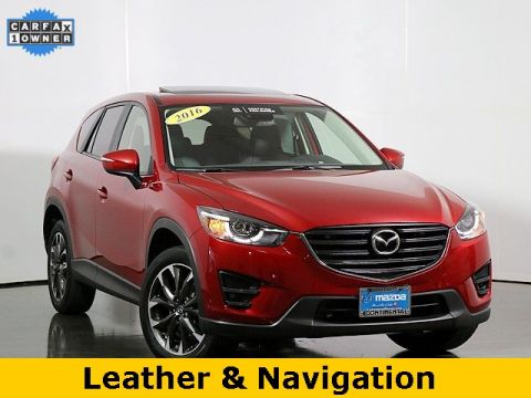 Pre-Owned 2016 Mazda CX-5 Grand Touring W/Blind Spot Monitoring
